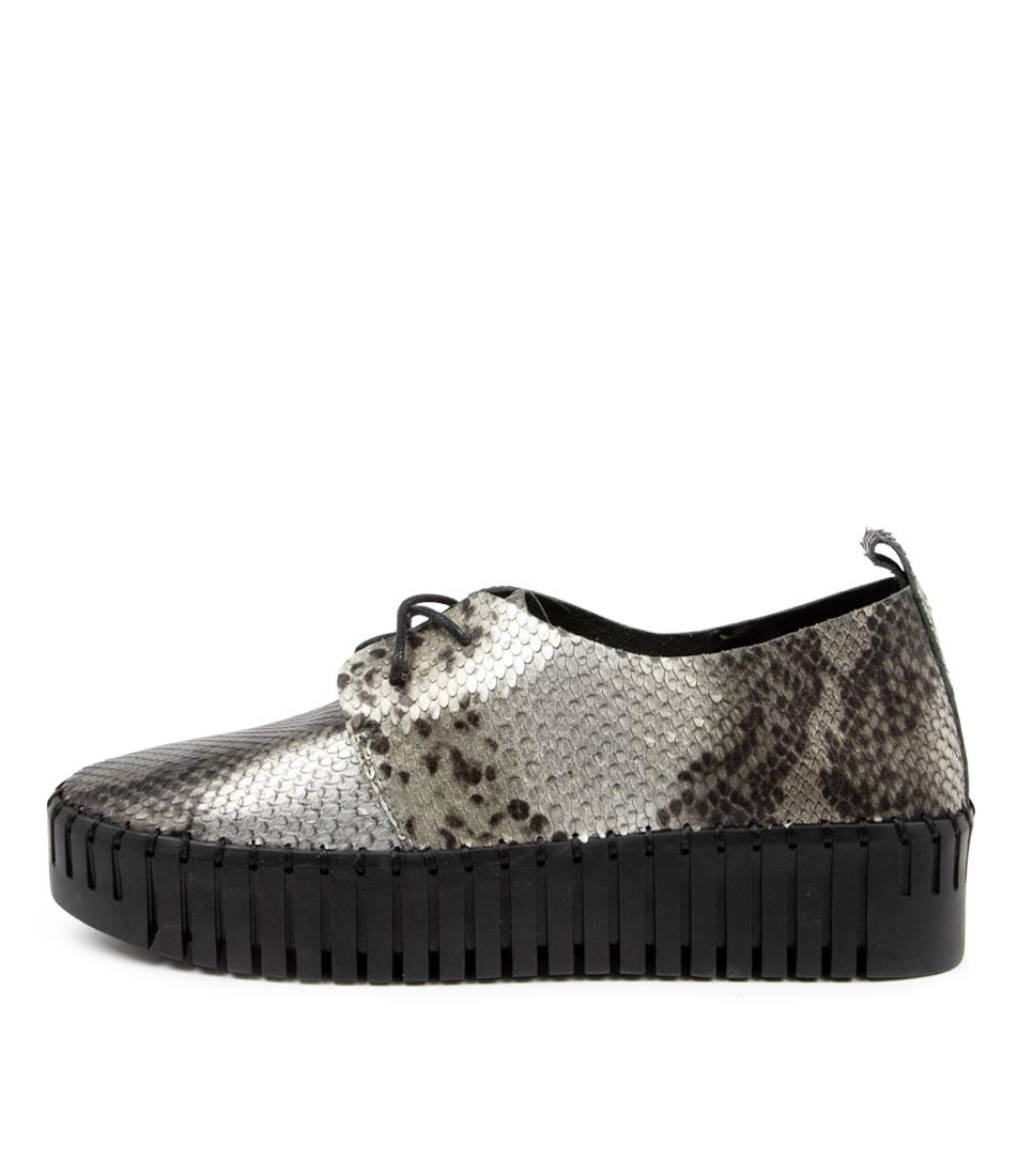 Buy Django & Juliette Brenda Dj Pewter Sneakers online with free shipping