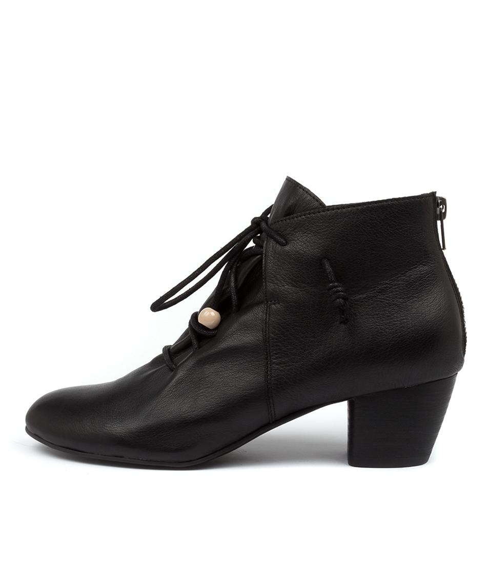 Buy Django & Juliette Defreeze Dj Black Heel Ankle Boots online with free shipping