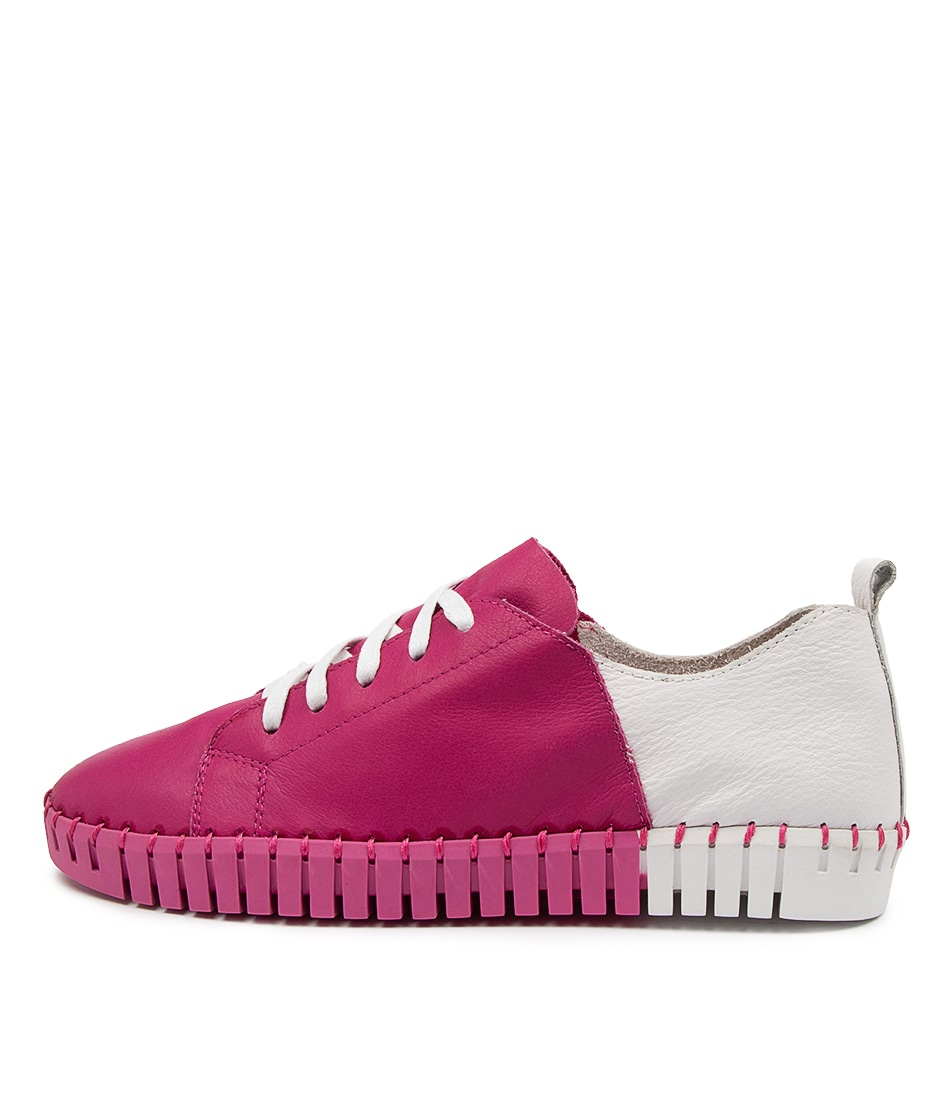 Buy Django & Juliette Luxit Dj Fuchsia White Sneakers online with free shipping