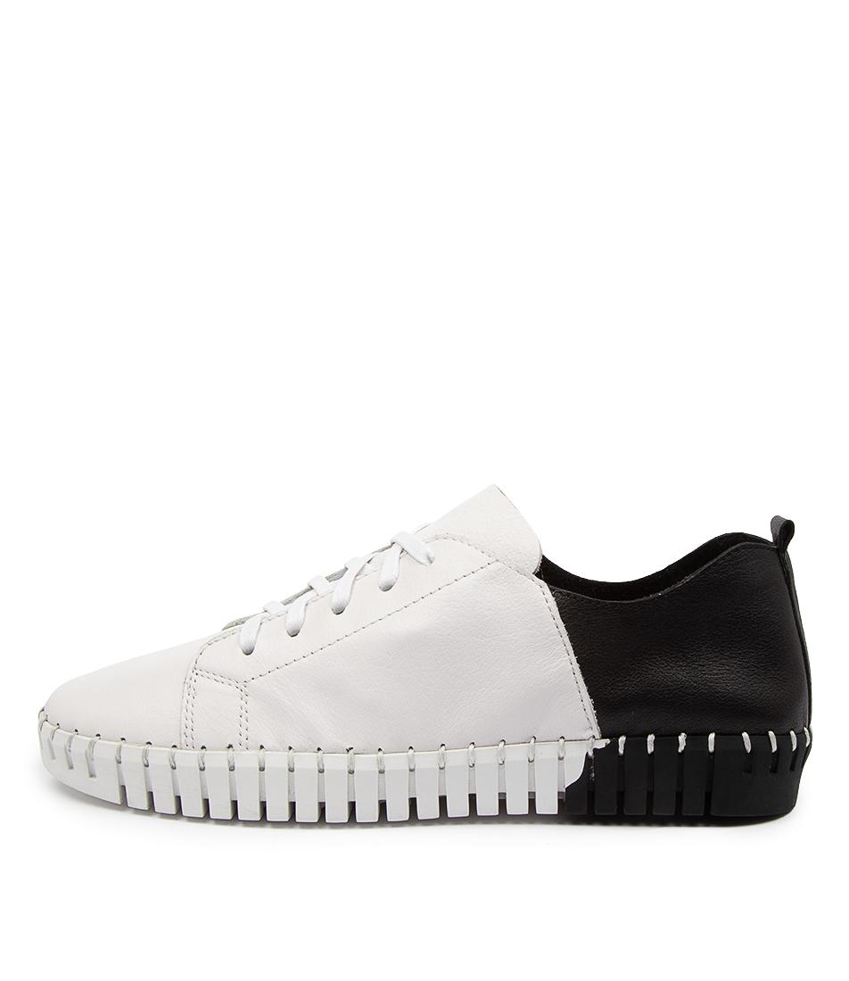 Buy Django & Juliette Luxit Dj White Black Sneakers online with free shipping