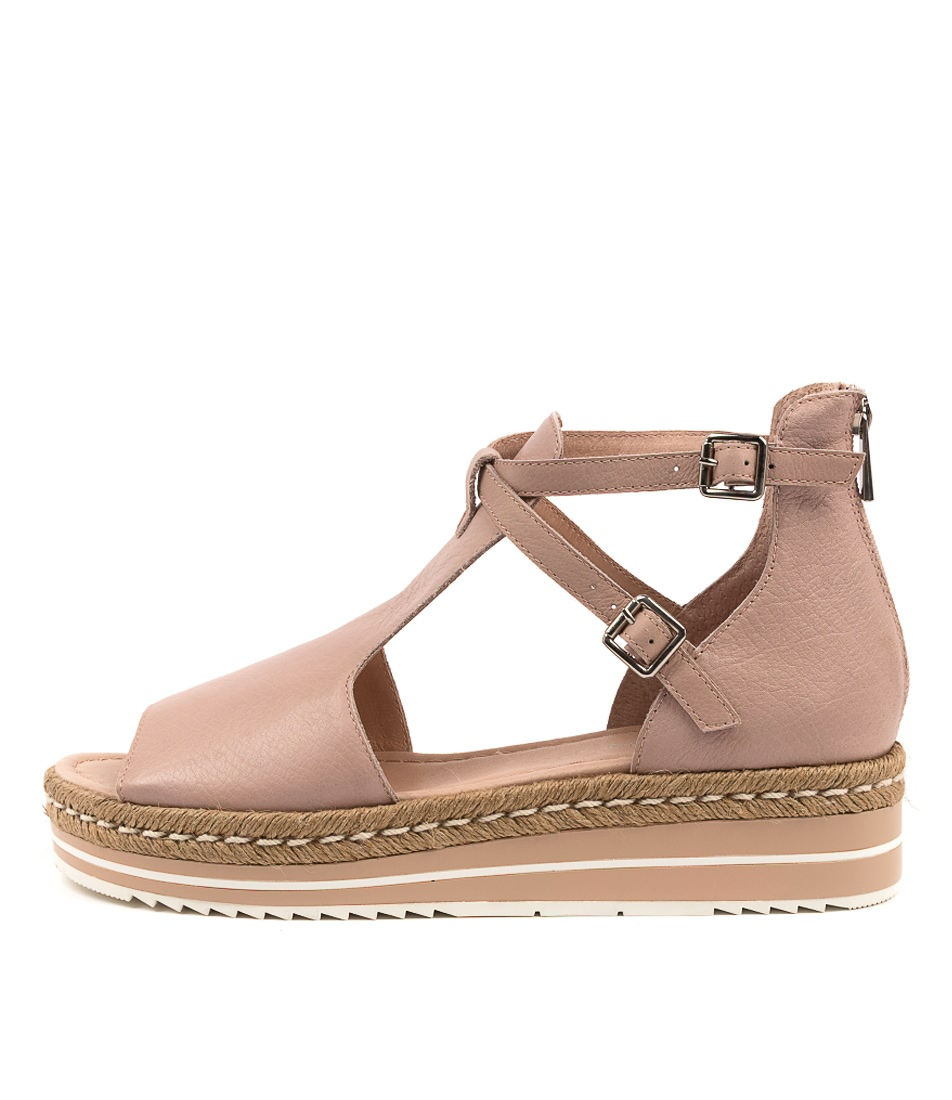 Buy Django & Juliette Alexys Dj Rose Flat Sandals online with free shipping