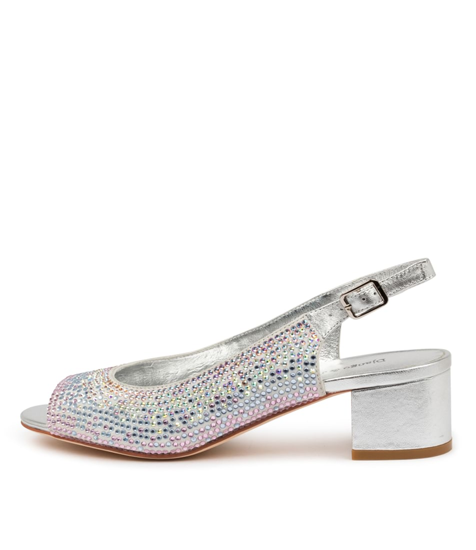 Buy Django & Juliette Alpha Dj Pastel Heeled Sandals online with free shipping
