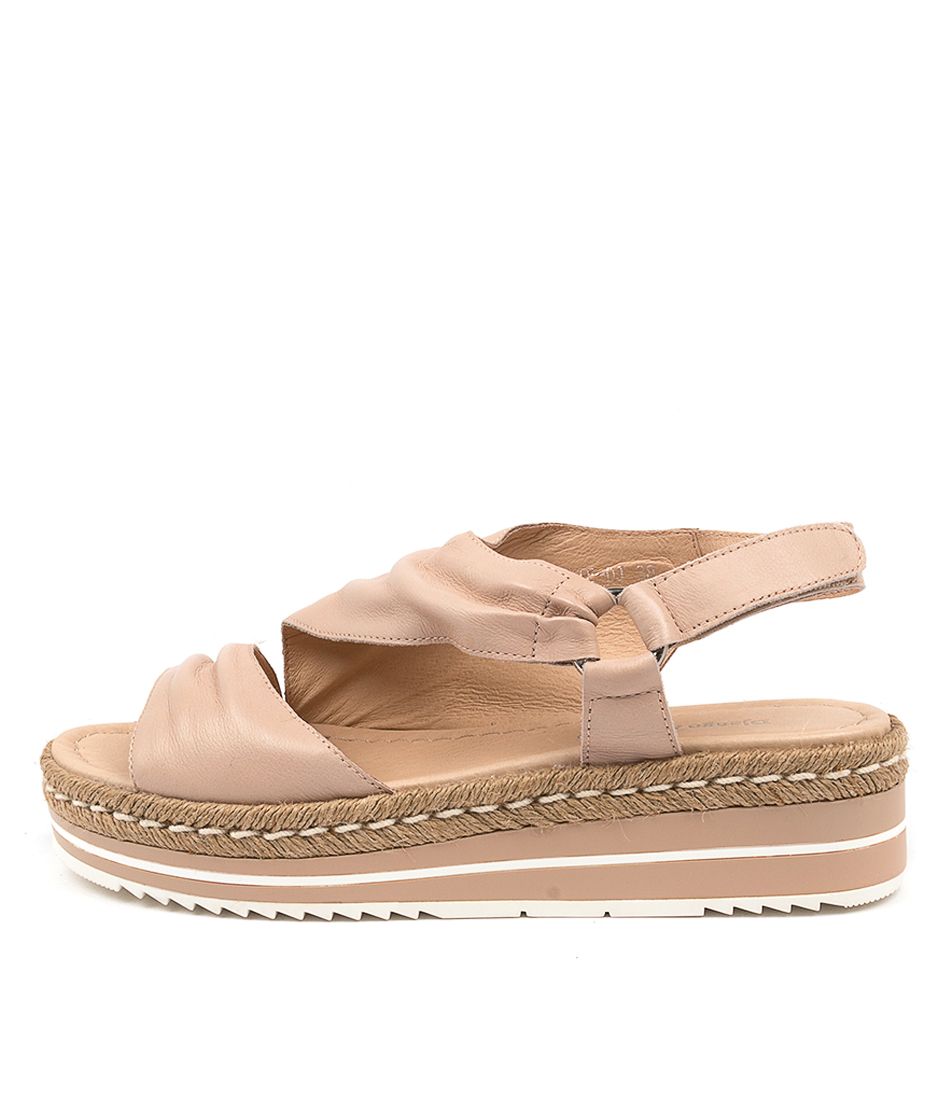 Buy Django & Juliette Angie Dj Nude Flat Sandals online with free shipping