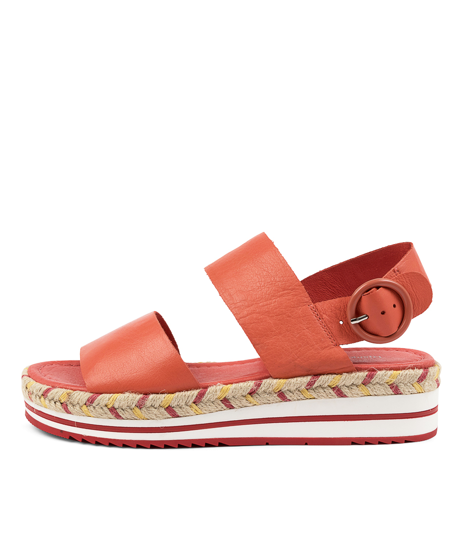 Buy Django & Juliette Athart Dj Melon Flat Sandals online with free shipping