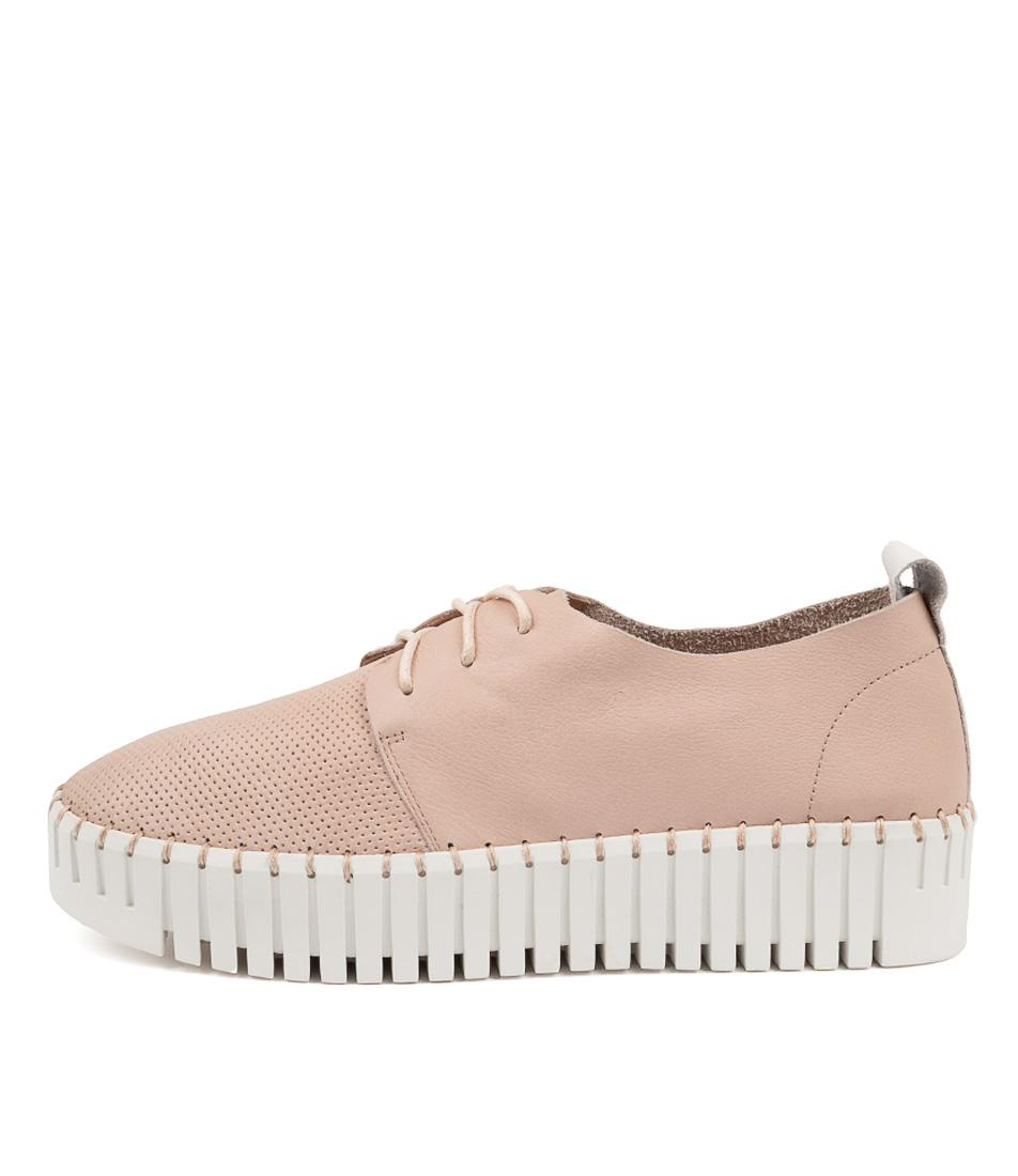 Buy Django & Juliette Batu Dj Rose White White Sole Sneakers online with free shipping