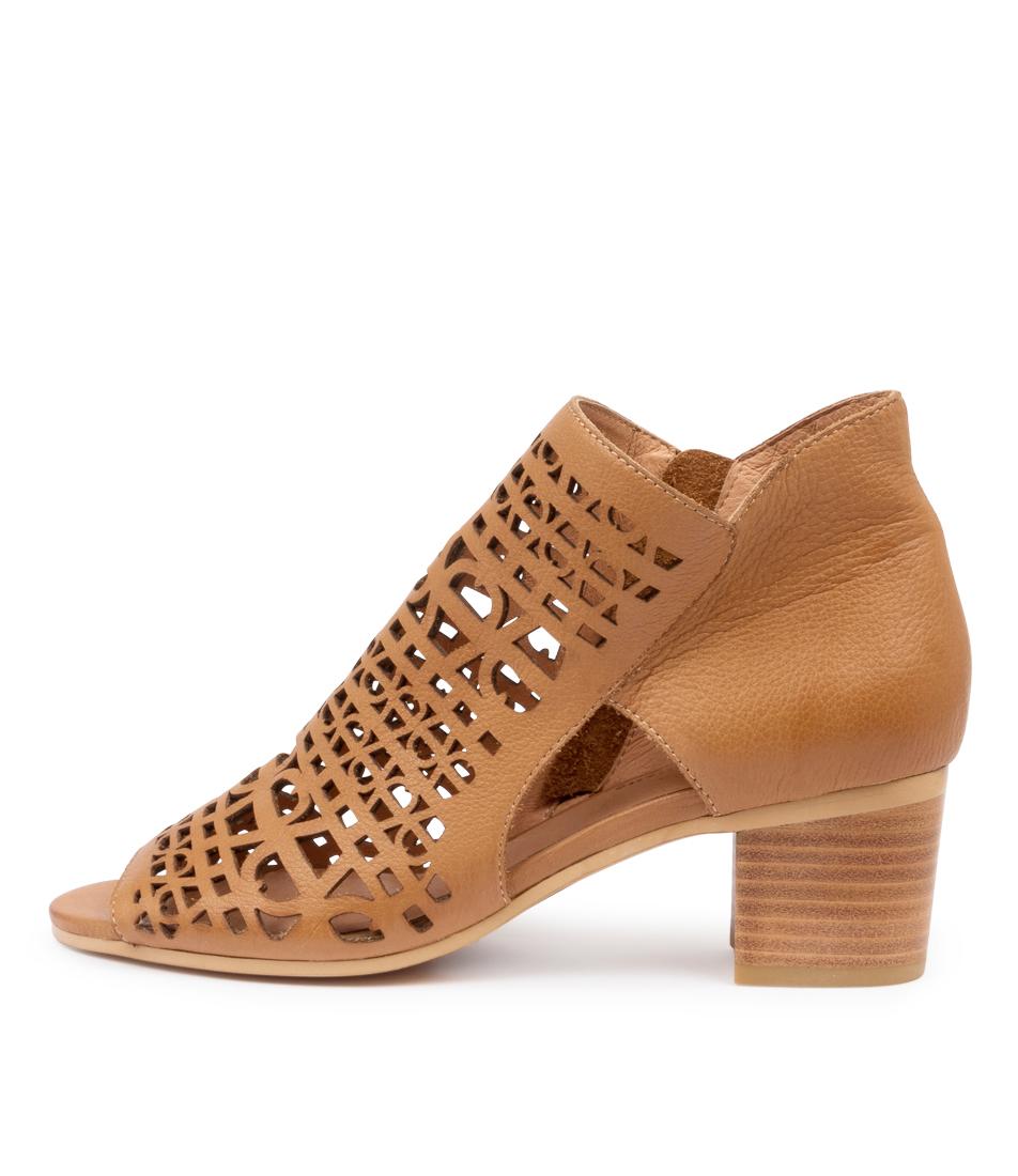 Buy Django & Juliette Birdie Dj Dk Tan Heeled Sandals online with free shipping