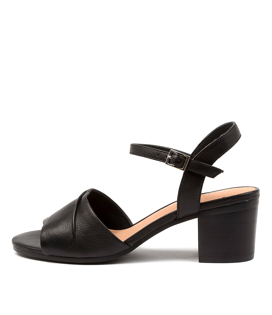 Buy Django & Juliette Brave Dj Black Heeled Sandals online with free shipping