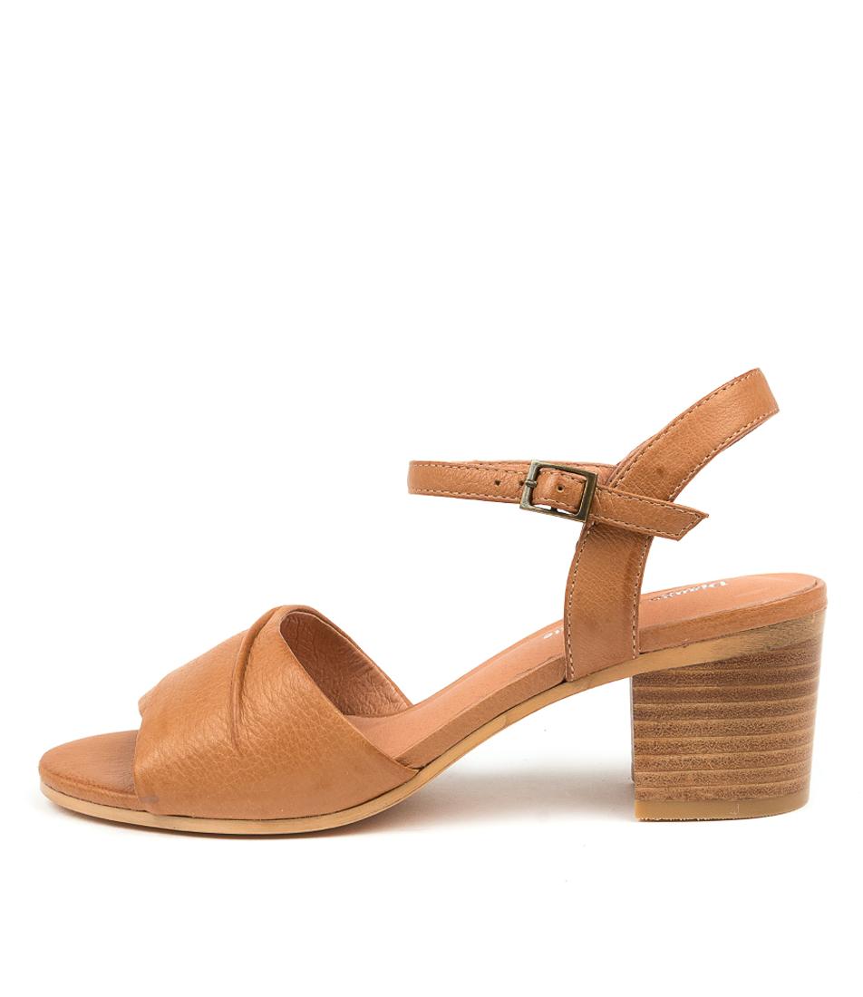Buy Django & Juliette Brave Dj Dk Tan Heeled Sandals online with free shipping