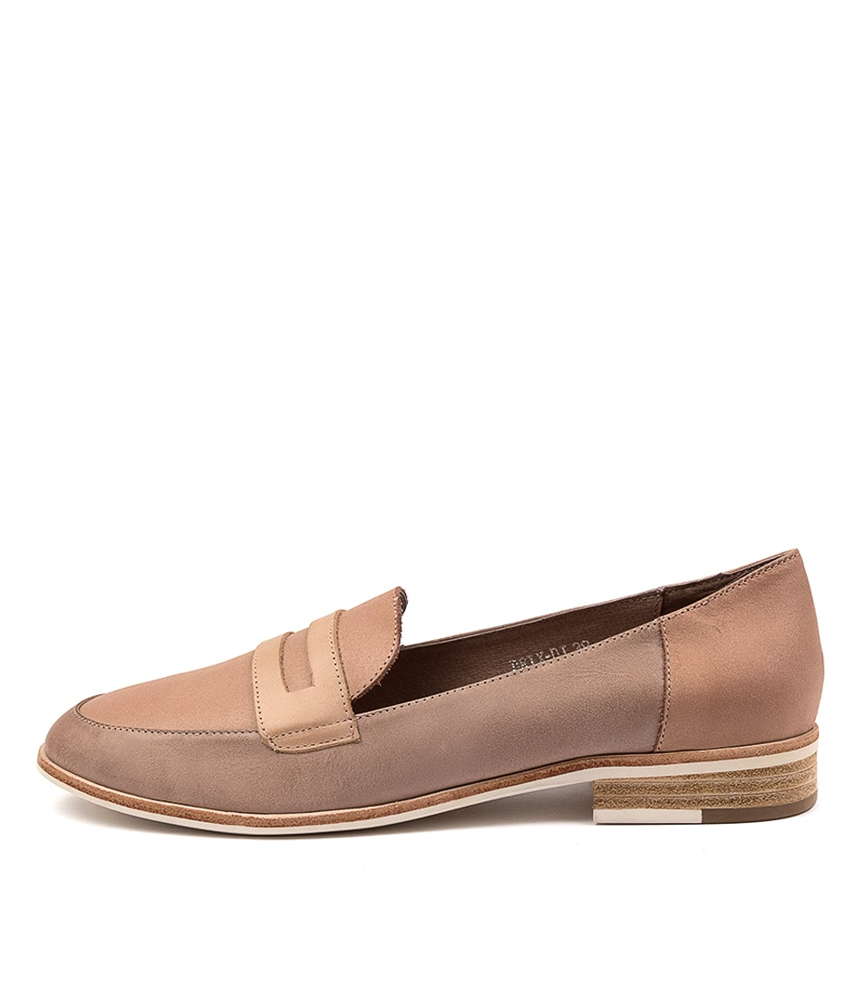 Buy Django & Juliette Brix Dj Taupe Multi Flats online with free shipping