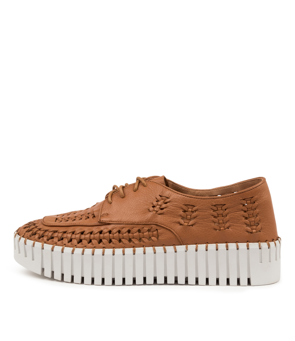 Buy Django & Juliette Brodies Dj Scotch White Sole Sneakers online with free shipping