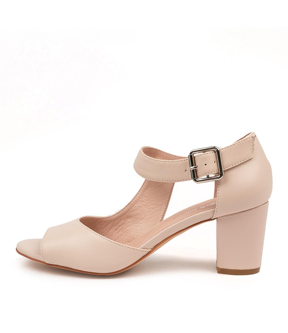Buy Django & Juliette Carlee Dj Nude Heeled Sandals online with free shipping
