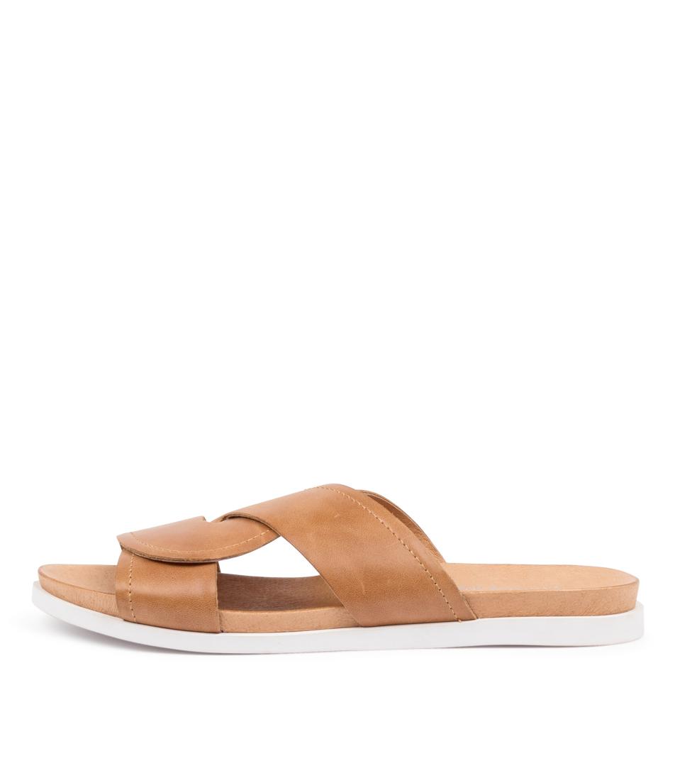 Buy Django & Juliette Colt Dj Tan Flat Sandals online with free shipping