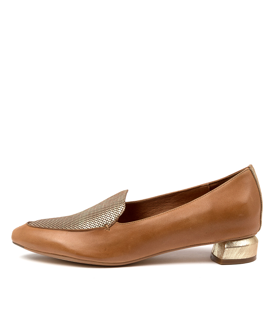 Buy Django & Juliette Fletch Dj Tan Old Gold Flats online with free shipping