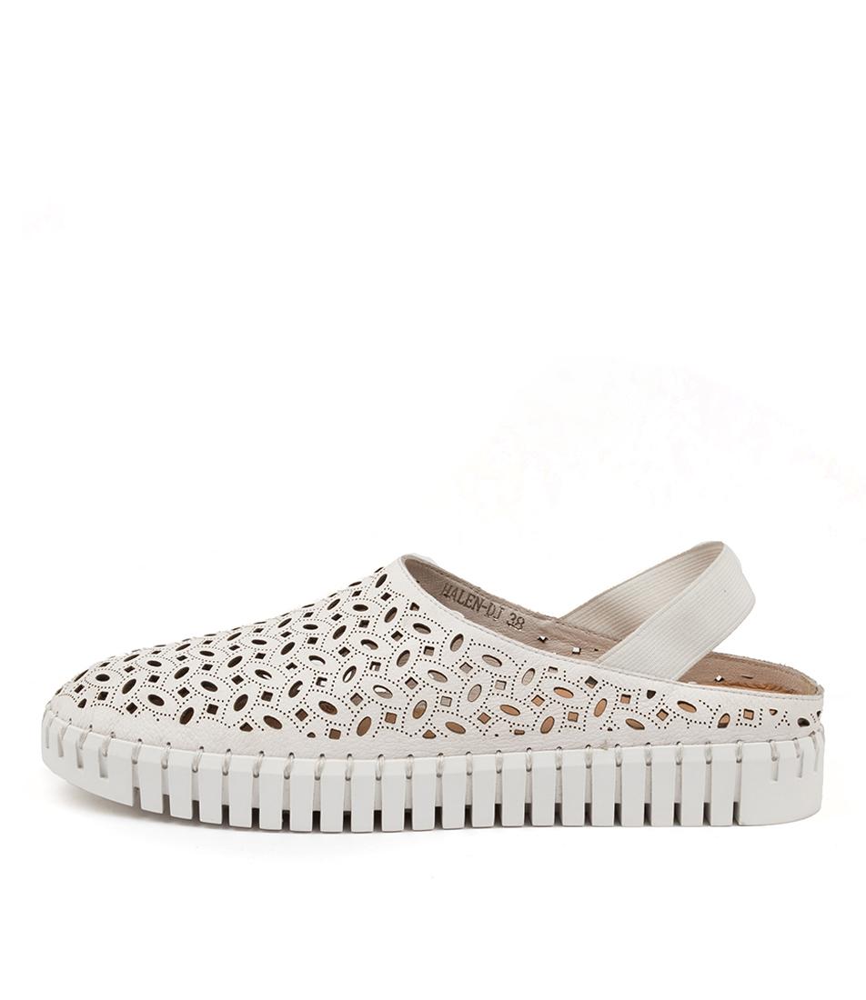 Buy Django & Juliette Halen Dj White White Sole Sneakers online with free shipping