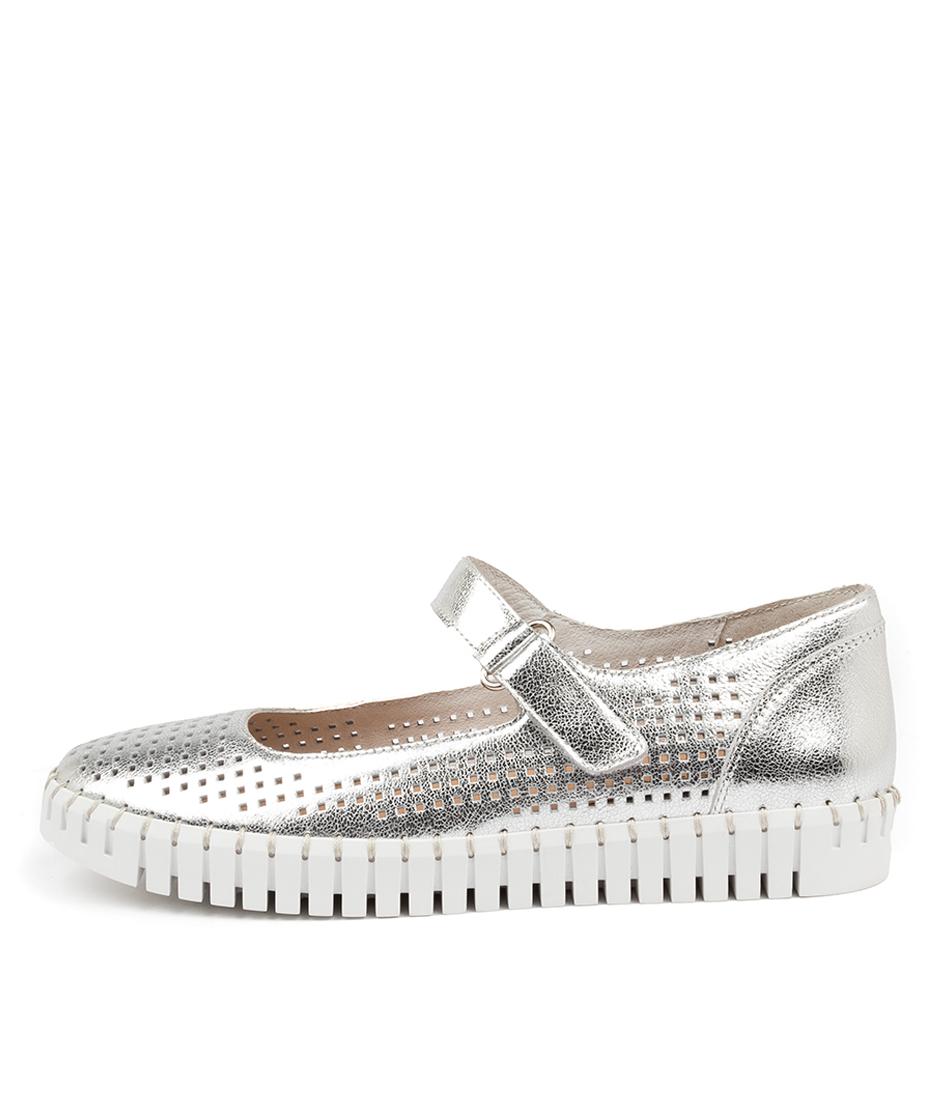 Buy Django & Juliette Haris Dj Silver White So Sneakers online with free shipping