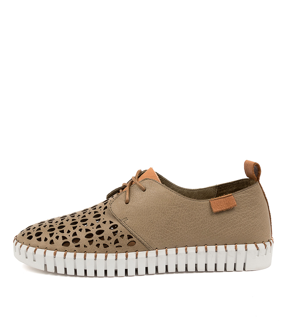 Buy Django & Juliette Hessie Dj Khaki Dk Tan Sneakers online with free shipping