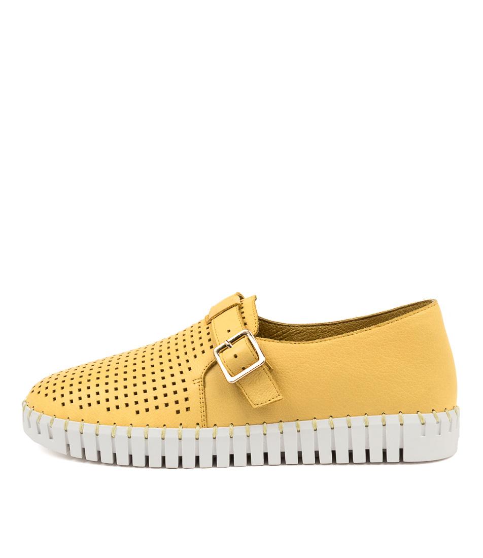 Buy Django & Juliette Hiro Dj Yellow White So Sneakers online with free shipping