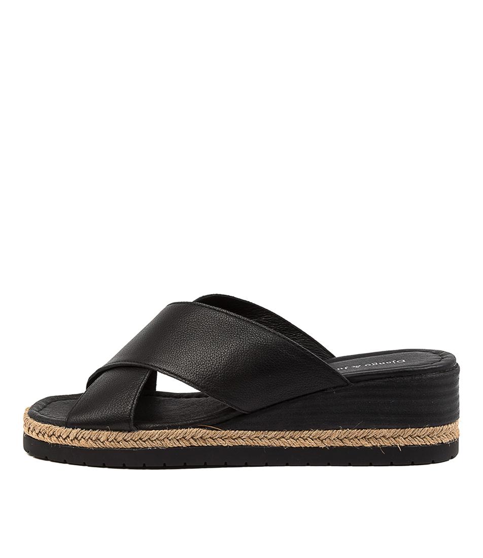 Buy Django & Juliette Illyan Dj Black Heeled Sandals online with free shipping
