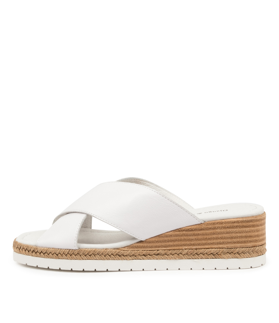 Buy Django & Juliette Illyan Dj White Heeled Sandals online with free shipping