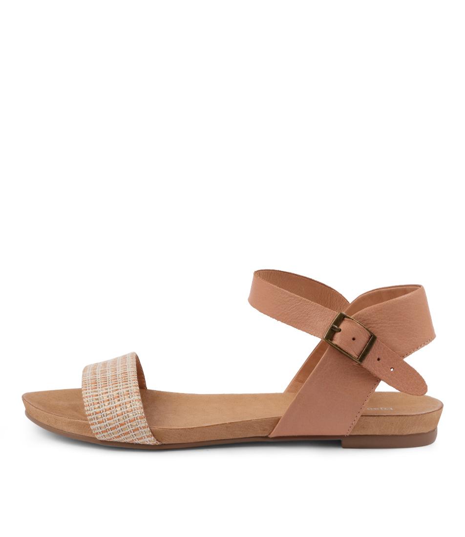 Buy Django & Juliette Jarta Dj Cantaloupe Cantaloupe Flat Sandals online with free shipping