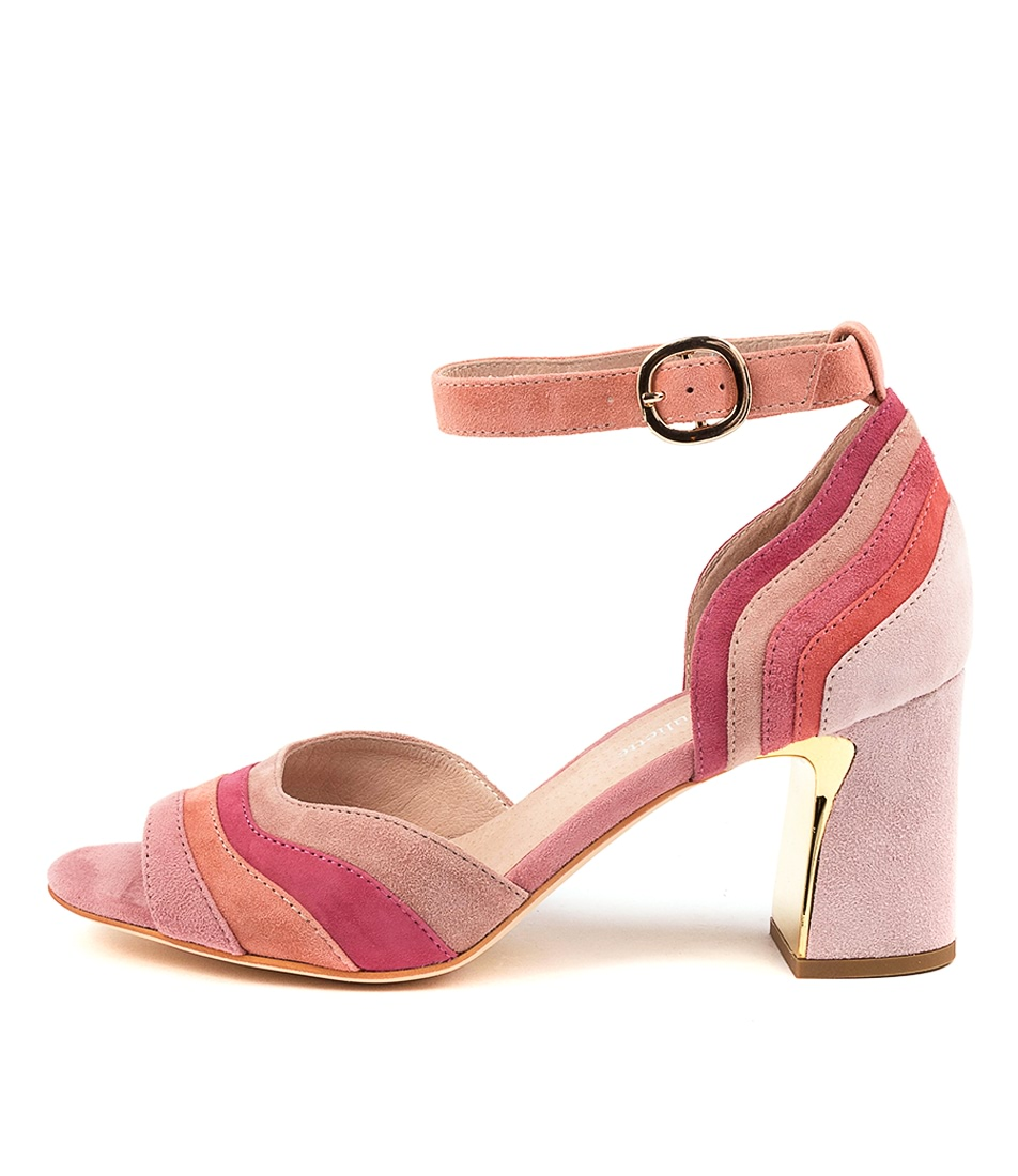 Buy Django & Juliette Kage Dj Blush Multi Heeled Sandals online with free shipping