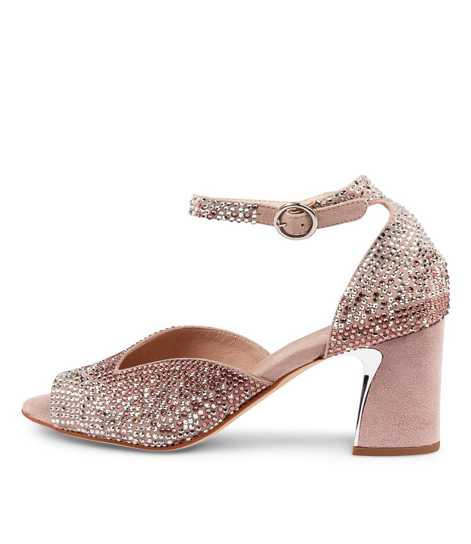 Buy Django & Juliette Kora Dj Dusty Pink Heeled Sandals online with free shipping