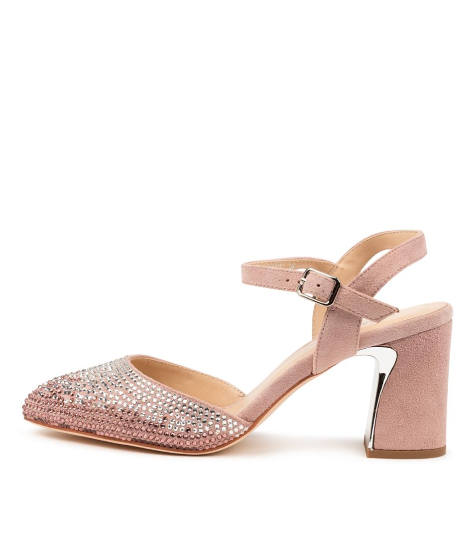 Buy Django & Juliette Krill Dj Dusty Pink High Heels online with free shipping