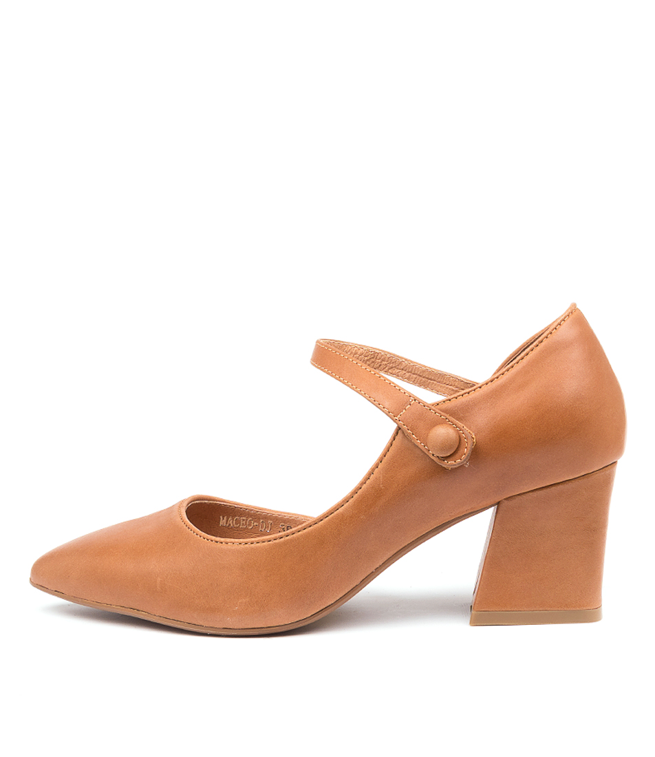 Buy Django & Juliette Maceo Dj Tan High Heels online with free shipping