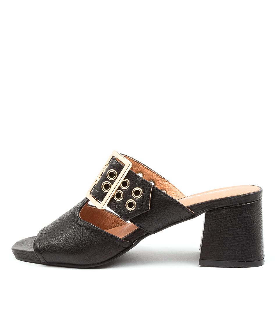 Buy Django & Juliette Marli Dj Black Heeled Sandals online with free shipping