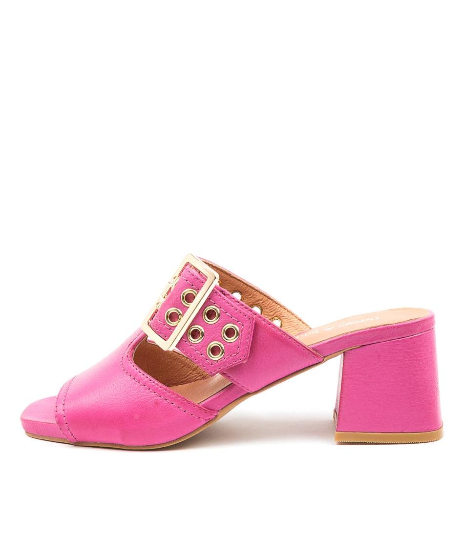 Buy Django & Juliette Marli Dj Fuchsia Heeled Sandals online with free shipping