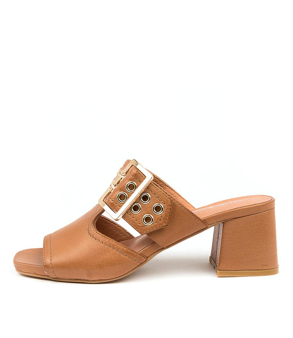 Buy Django & Juliette Marli Dj Dk Tan Heeled Sandals online with free shipping