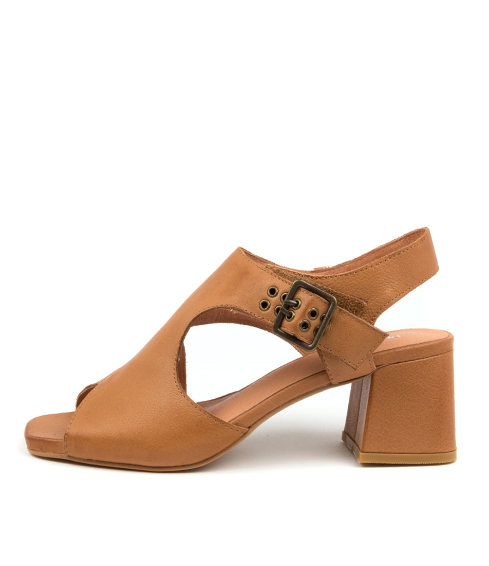 Buy Django & Juliette Maxenes Dj Dk Tan Heeled Sandals online with free shipping