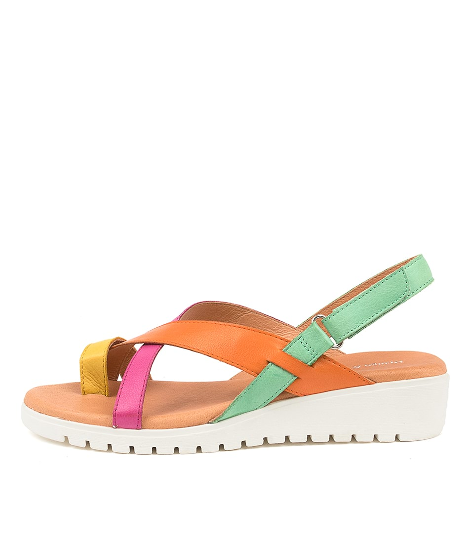 Buy Django & Juliette Mylah Dj New Bright Flat Sandals online with free shipping