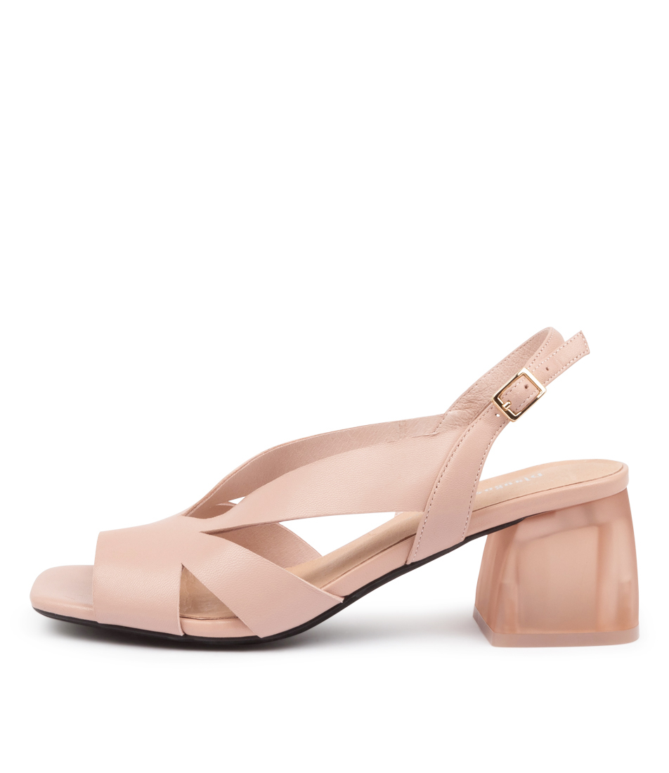 Buy Django & Juliette Navia Dj Blush Heeled Sandals online with free shipping