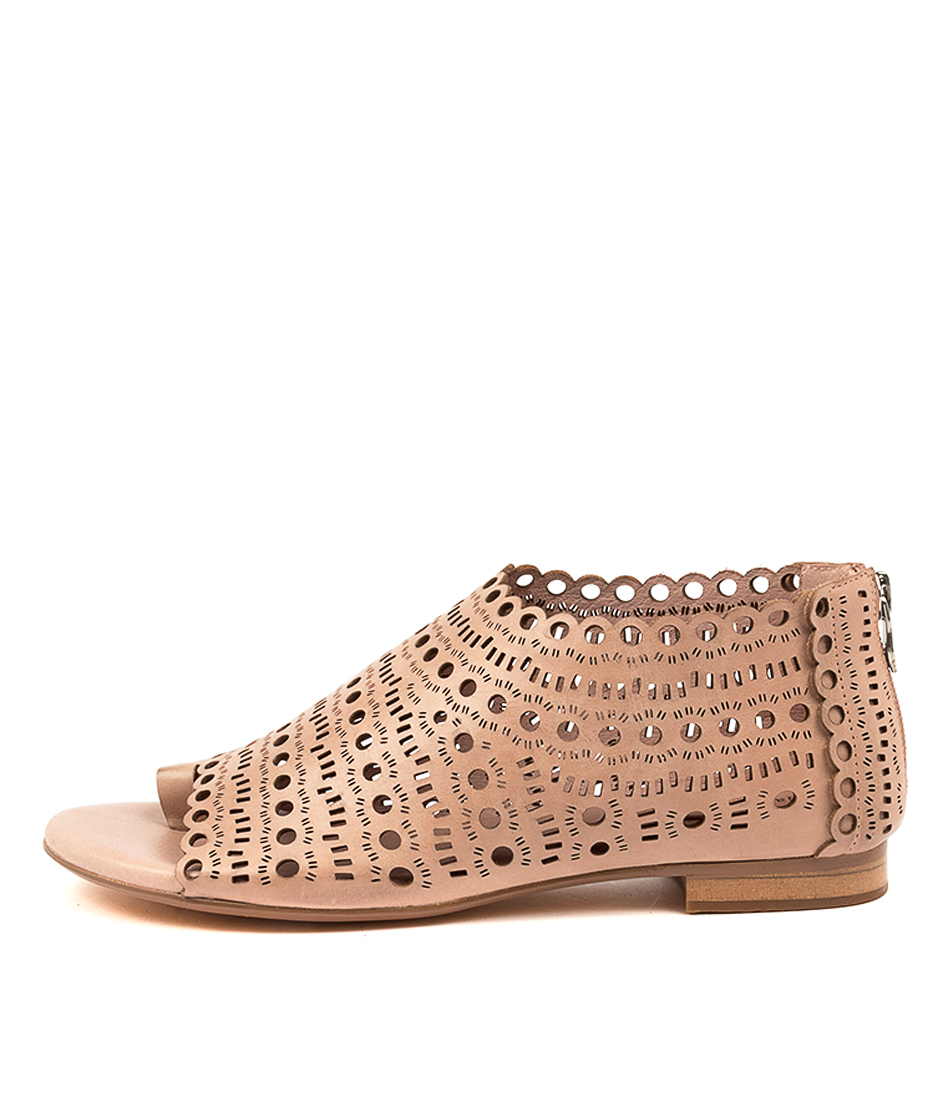 Buy Django & Juliette Penelope Dj Blush Flat Sandals online with free shipping