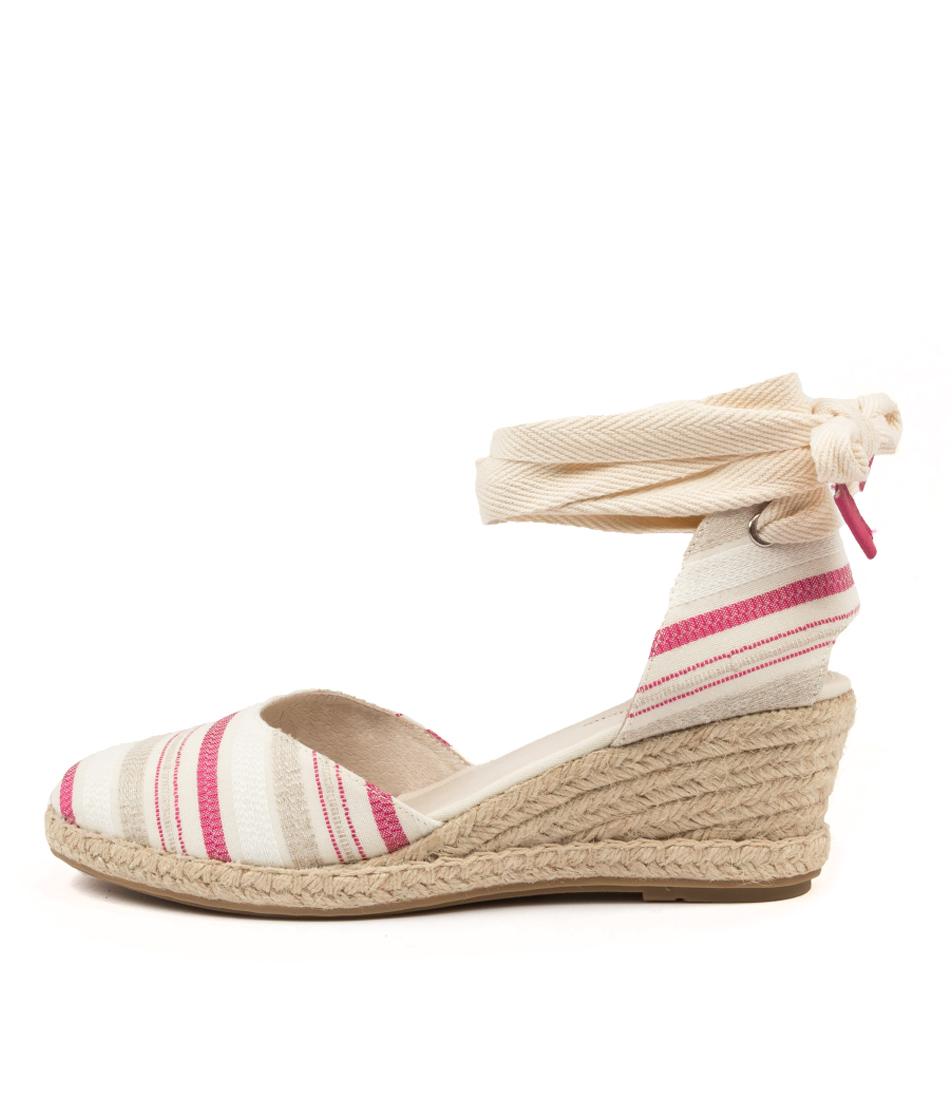 Buy Django & Juliette Radu Dj Raspberry & Natural Natural High Heels online with free shipping