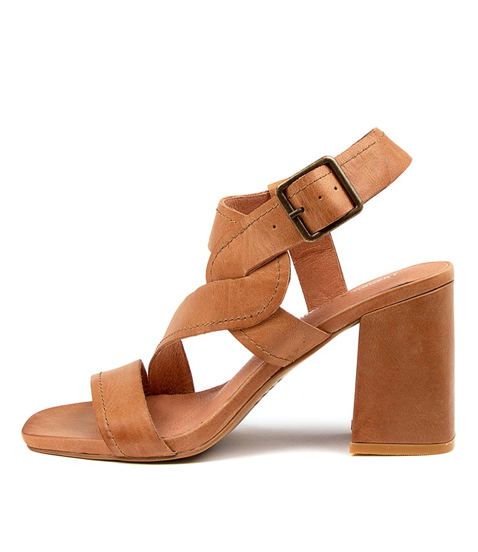 Buy Django & Juliette Rafa Dj Tan Heeled Sandals online with free shipping