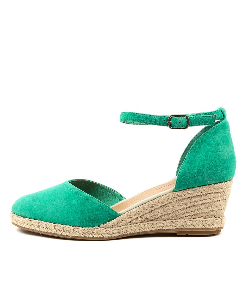 Buy Django & Juliette Rylen Dj Emerald Natural Rope High Heels online with free shipping