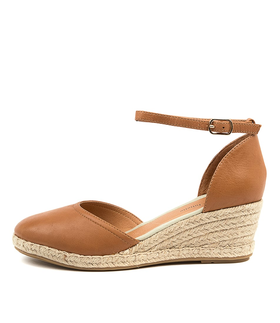 Buy Django & Juliette Rylen Dj Dk Tan Natural Rope High Heels online with free shipping