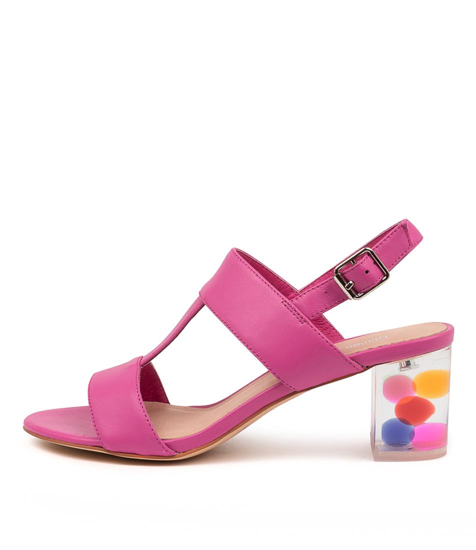 Buy Django & Juliette Sennis Dj Fuchsia Party Heeled Sandals online with free shipping