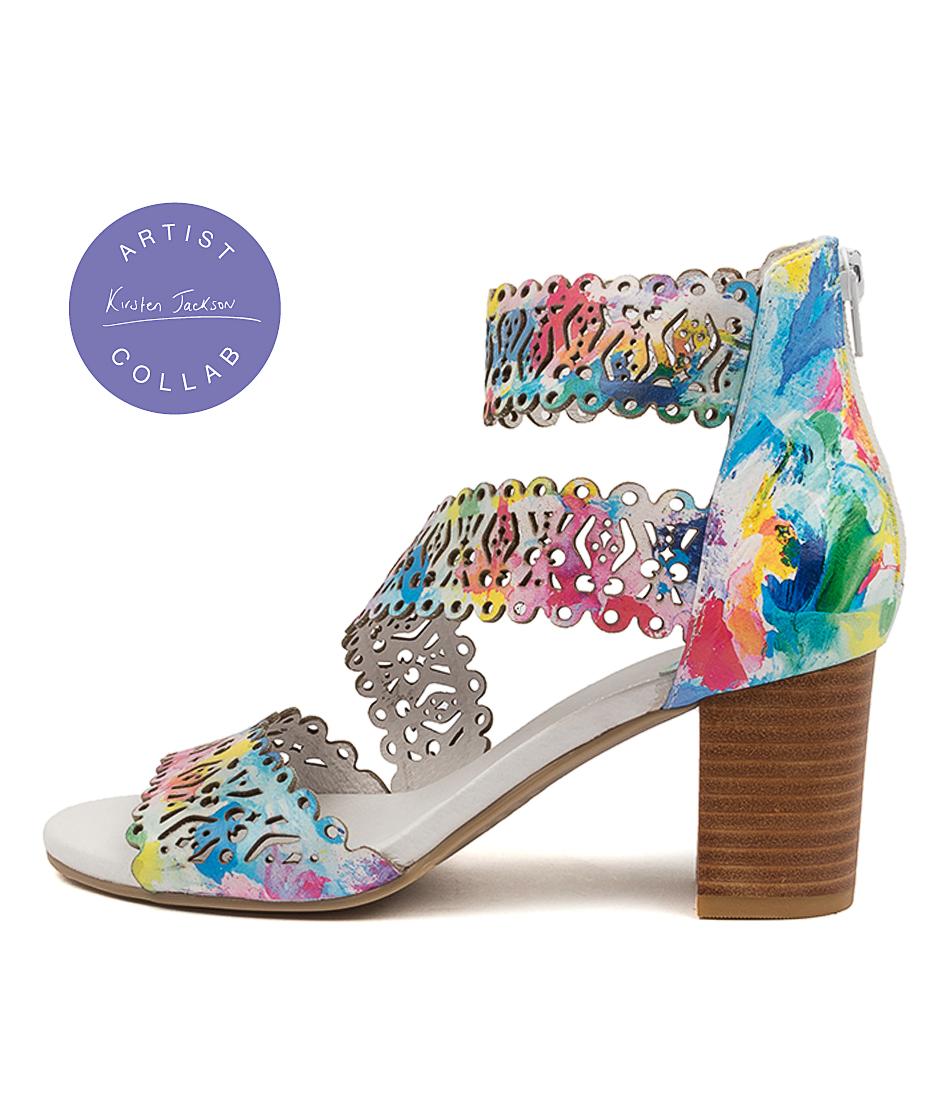 Buy Django & Juliette Sham Dj Sunset Heeled Sandals online with free shipping