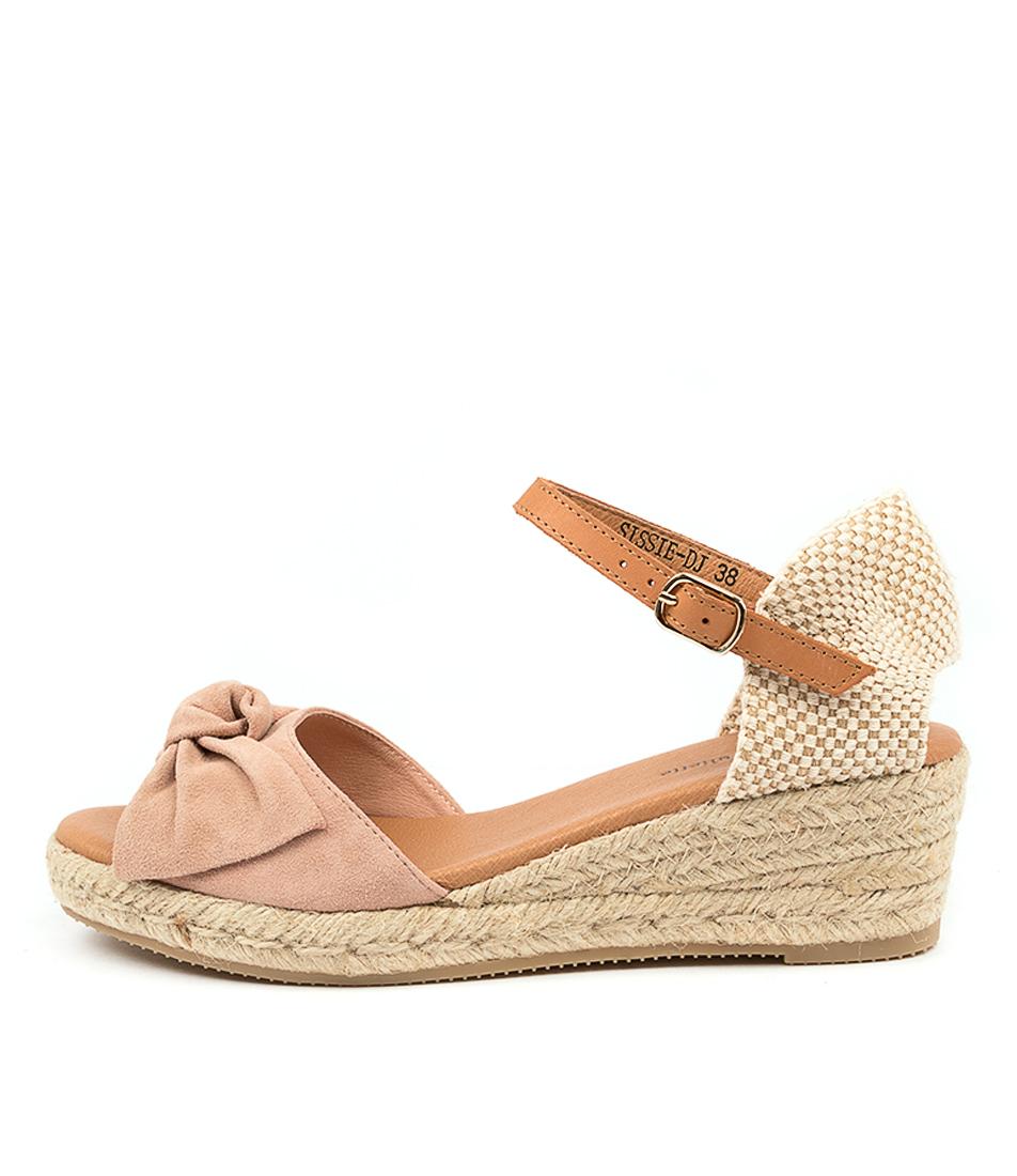 Buy Django & Juliette Sissie Dj Blush Lt Tan Heeled Sandals online with free shipping