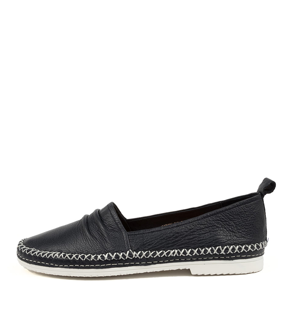 Buy Django & Juliette Vaden Dj Navy Flats online with free shipping