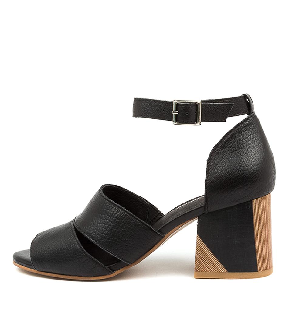 Buy Django & Juliette Virika Dj Black Heeled Sandals online with free shipping