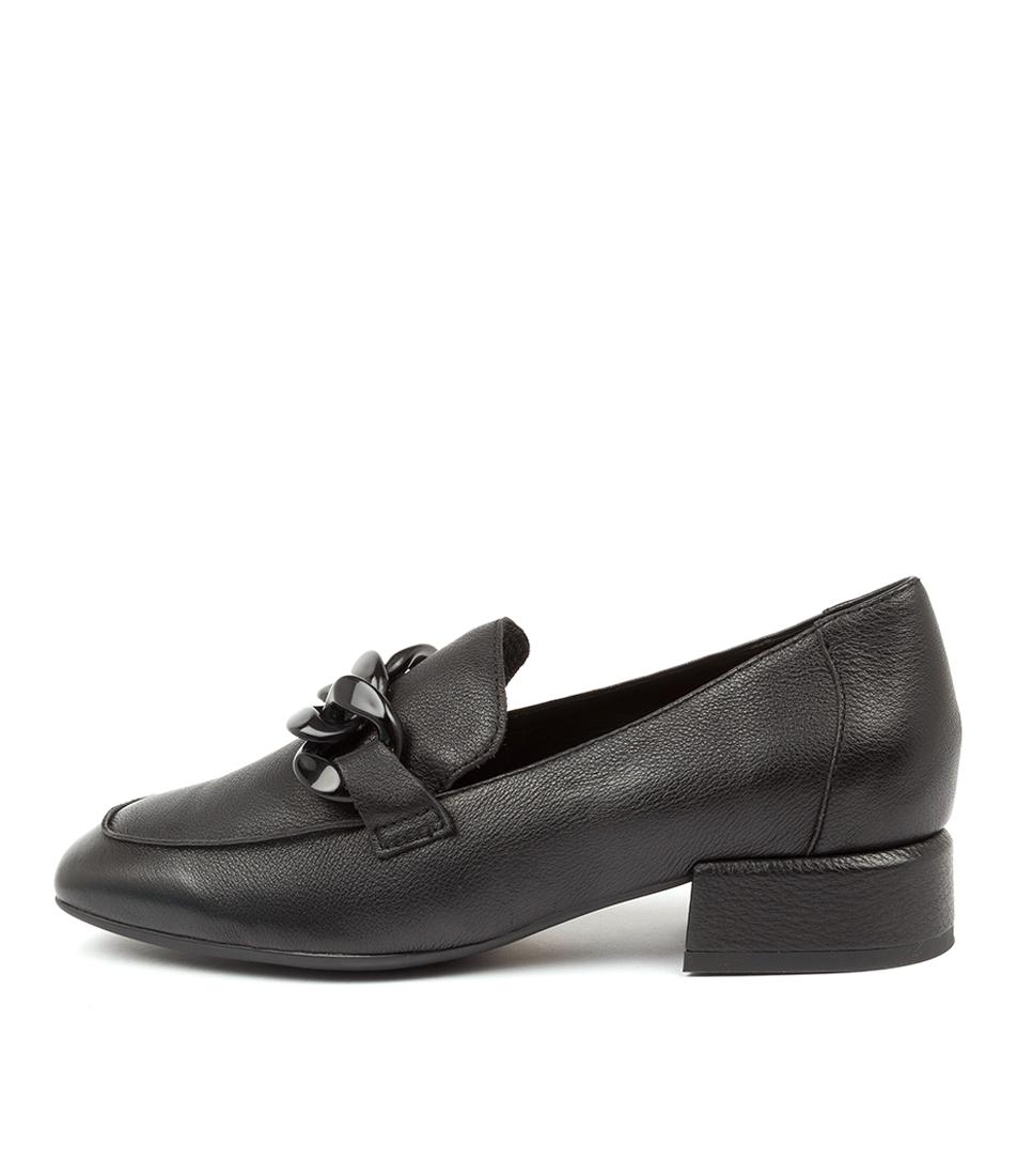 Buy Django & Juliette Vivanly Dj Black Black High Heels online with free shipping