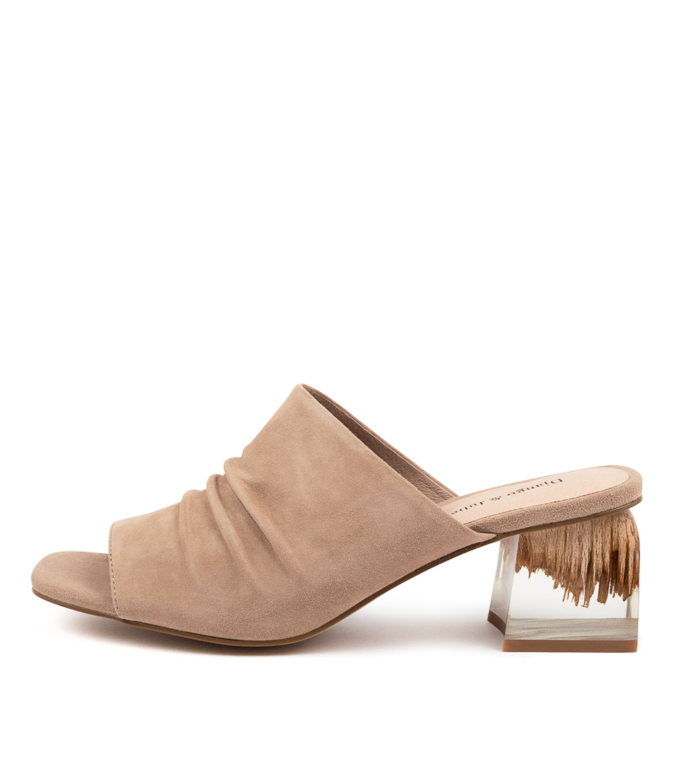Buy Django & Juliette Weezie Dj Taupe Heeled Sandals online with free shipping