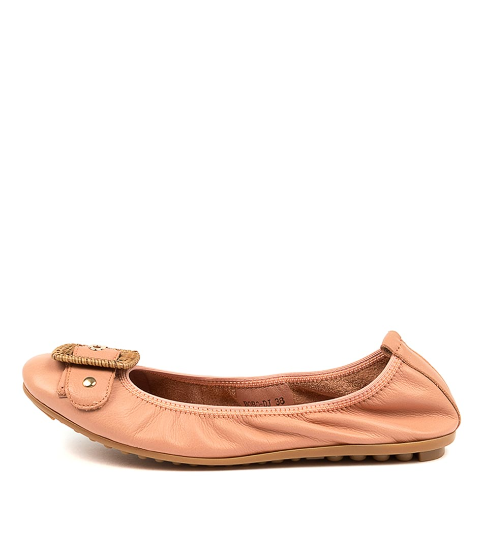 Buy Django & Juliette Bobo Djl Cantaloupe Flats online with free shipping