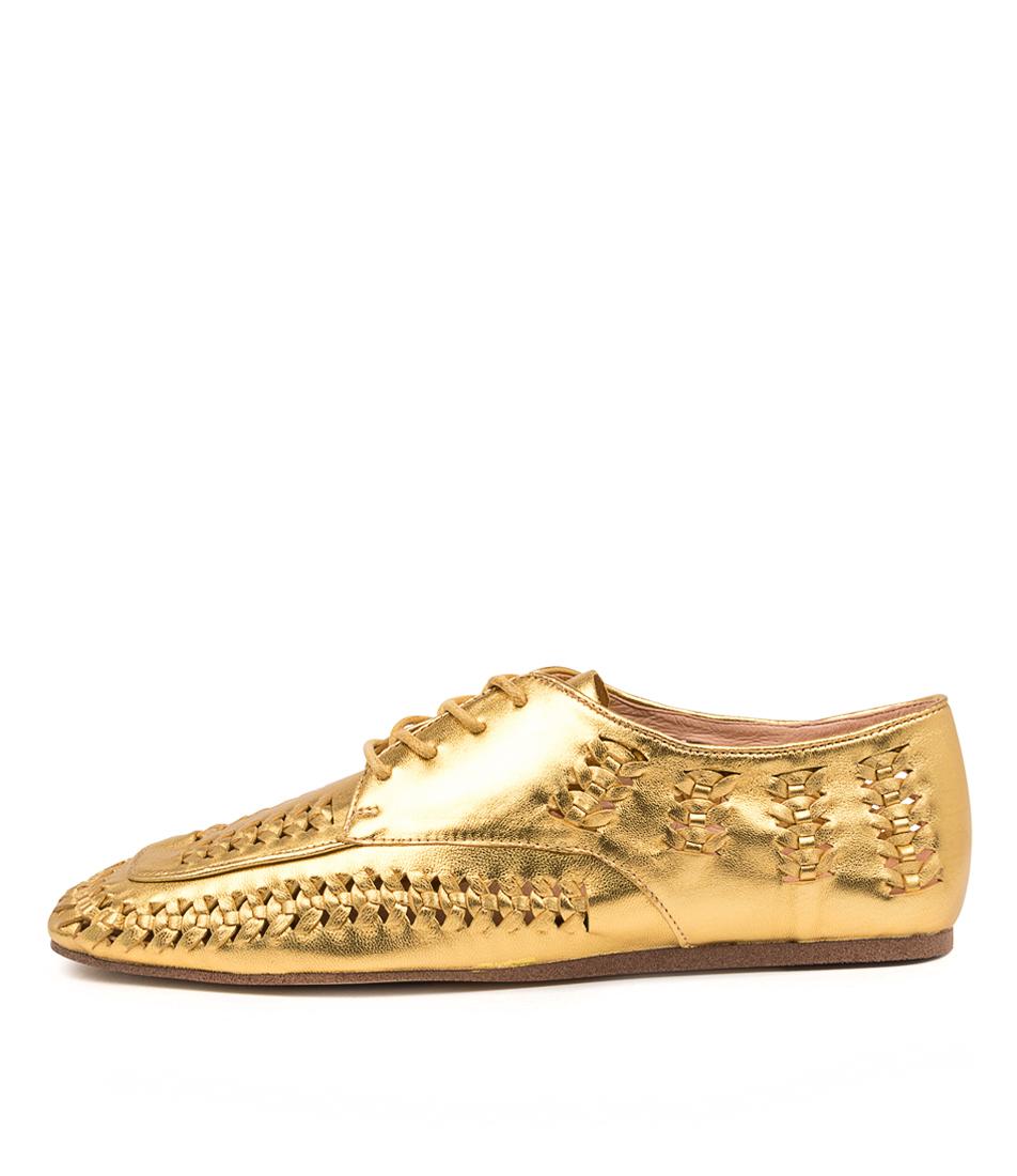 Buy Django & Juliette Maite Dj Old Gold Flats online with free shipping