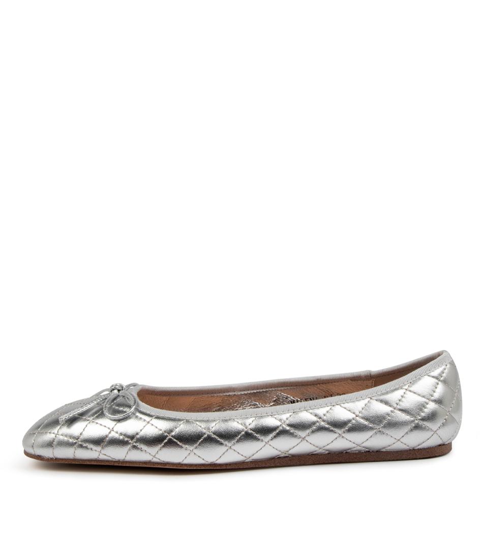 Buy Django & Juliette Malena Dj Silver Flats online with free shipping