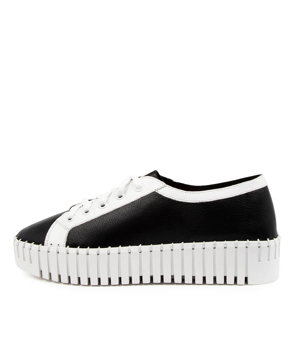 Buy Django & Juliette Banksta Dj Black White Sneakers online with free shipping